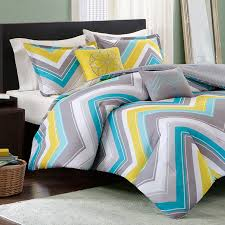 elise twin xl comforter set blue chevron free shipping