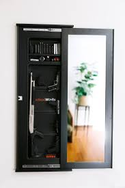 Diy Hidden Gun Cabinet Plans by Best 25 Tactical Wall Ideas On Pinterest Hidden Gun Cabinets