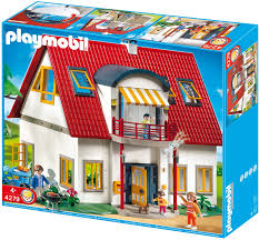 شريحة لحم الهدف المربي playmobil haus mit licht