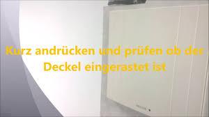 filterwechsel filtertausch bei helios badlüfter küchenlüfter ventilator els ve ersatzluftfilter