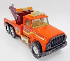 100 Ebay Tow Trucks For Sale VINTAGE NYLINT BIG PUMPKIN PRESSED STEEL ORANGE TOW TRUCK WRECKER EBay