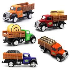 100 Toy Farm Trucks Amazoncom MinYn Diecast Truck Playset Cars Pullback