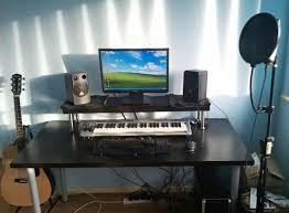Cheap DIY Ikea Home Studio Desk