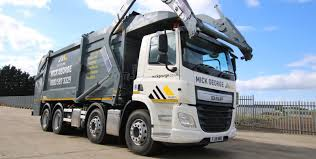 100 Custom Built Trucks Mick George Ltd Put Safety First With Two Custom Built DAF FAD CFs