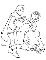 Download Coloring Pages Snow White Page Of House