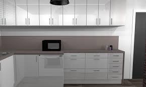 cuisine laqu馥 blanche plan de travail gris cuisine laqu馥 blanche 100 images cuisine 駲uip馥 cdiscount 28