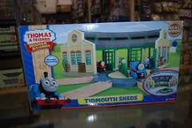 thomas friends fp wooden railway y4367 tidmouth sheds ebay
