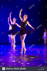 young 14 15 16 year old teenage student ballet dancers