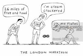 The London Marathon Cockney Rhyming Slang Variations