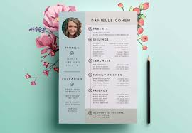 Dating Resume | Profile Design | Shira Ink.