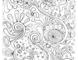 Abstract Coloring Pages For Teenagers Difficult Online To Print