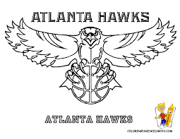 Nba Sports Coloring Pages