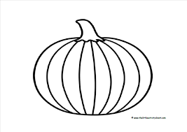 Cat Paw Print Pumpkin Stencil by Printable Pumpkin Outline Coloring Home