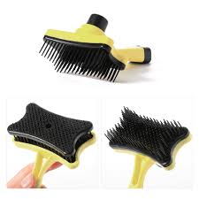 Horse Hair Shedding Tool by Pet Cat Dog Hair Fur Shedding Cleaning Grooming Comb Brush Tool