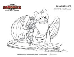 How To Train Your Dragon Coloring Pages Dragons 1