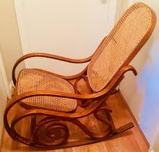 Vintage Thonet Style Bentwood Cane Rocker Rocking Chair Mid Century ... Vintage Bentwood Rocking Chair Makeover Zitaville Home Thonet Antique Rocker Chairish Art Nouveau Antique Bentwood Solid Beech Cane Rocking For Sale French Salvoweb Uk At 1st Sight Products Mid Century Antique Thonet Type Bentwood Rocking Chaireither A Salesman Sample Worldantiquenet Style Old Rare Chair Even Before The Ninetehcentury Leather By Interior Gebruder Number 7025 Michael Glider Chairs For Sale 28 Images