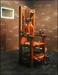 la chaise electrique la peine de mort dans le temps