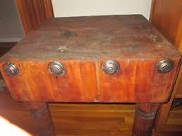 antique butcher block ebay