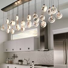 catchy linear island lighting kitchen lighting ceiling wall