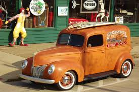 100 Trucks On Craigslist Find Restored 1940 Ford Panel Delivery Truck
