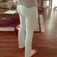 Victorias Secret White Yoga Pants