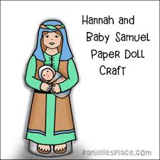 Hannah And Samuel Paper Dolls
