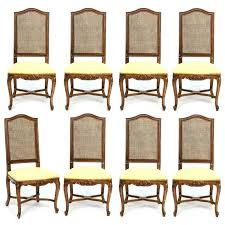 Cane Back Dining Room Chairs French Unique Tall High