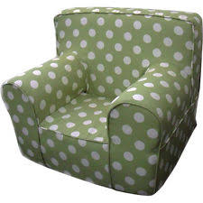 insert for pottery barn anywhere chair includes pink polka dot