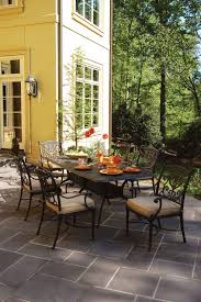 Patio Furniture Sling Replacement Houston by Hanamint Grand Tuscany Collection Rust Proof Cast Aluminum