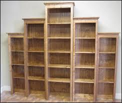 Custom Wood Bookshelves Rustic Retail Store Product Display Fixtures Shelving 12