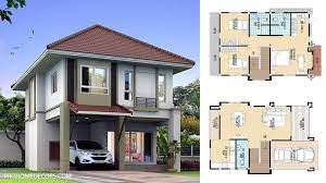 104 Housedesign Modern House Design 7x11 With 3 Bedrooms Pro Home Decors