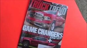 Truck Trend Magazine Horror Show - YouTube Motor Trends Truck Trend 15 Anniversary Special Custom Embroidery Door Inserts Visors Shirts Dakota Durango Forum Tech And How To Diy At Network Oukasinfo Heavy Duty Accsories Keldermanoskaloosa Ia New Magazine Wwwtopsimagescom The 20th Of Sort Of Subscription Food Nation Tracking Design Top Trucks Wed Like See Return Khosh Crew Cab Pickup 2wd 2012 Best In Class Buyers Guide User Manual That Easytoread