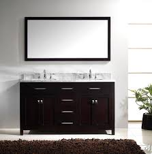 Double Sink Vanity Top by Virtu Usa Md 2060 Wmsq Es Caroline 60 Inch Bathroom Vanity With