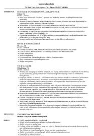 Download Tour Manager Resume Sample As Image File