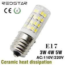 e17 led light bulb 110v 120v 220v 3w 4w 5w replace halogen l