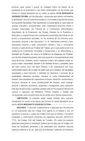 LA CADUCIDAD DEL PODER Capitel