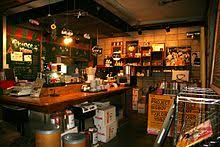 The Service Counter Of 1st Shop Coffee Prince