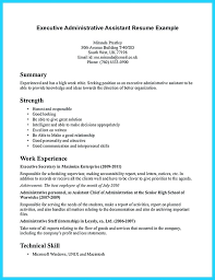Resumes For Office Assistant Sample Administrative Resume