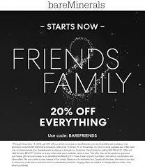 Pinned November 10th: 20% Off Everything At #bareMinerals Or ...