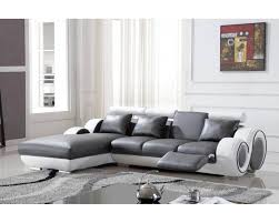 canapé gris et blanc pas cher deco in canape d angle avec meridienne gris et blanc oslo