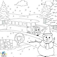 Holiday Coloring Pages Printable Winter Color Bros