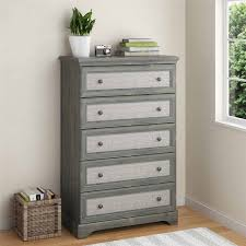 Ameriwood Dresser Assembly Instructions by Ameriwood Home Stone River 5 Drawer Dresser With Fabric Inserts