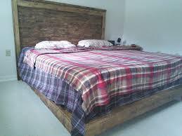 Ana White Rustic Headboard by Ana White Haley Platform Bed Reclaimed Wood Headboard Rustic X