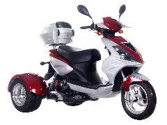 49cc 50cc Sale 3 Wheel Trike Ice Bear Scooter