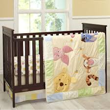 disney baby peeking pooh 7 piece crib bedding set toys r us