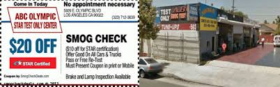 Brake And Lamp Inspection Test by Smog Check 90022 Five Star Certified Locations 323 712 3639