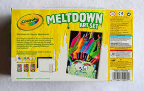 Crayola Bathtub Crayons Walmart by Crayola Meltdown Crayons Art Set What U0027s Inside The Box Jenny U0027s