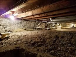 Floor Joist Jack Crawl Space by Basement Waterproofing Independence Mo Foundation Repair