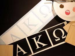 Alpha Phi Omega Letter StencilsMonsters Inc Regular APO And