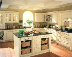 Country Style Kitchen Cabinets White Cabinet 6